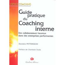 Guide pratique du coaching interne, Danièle Petterson